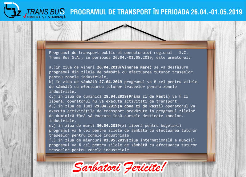 program-transport-sarbatorile-pascale